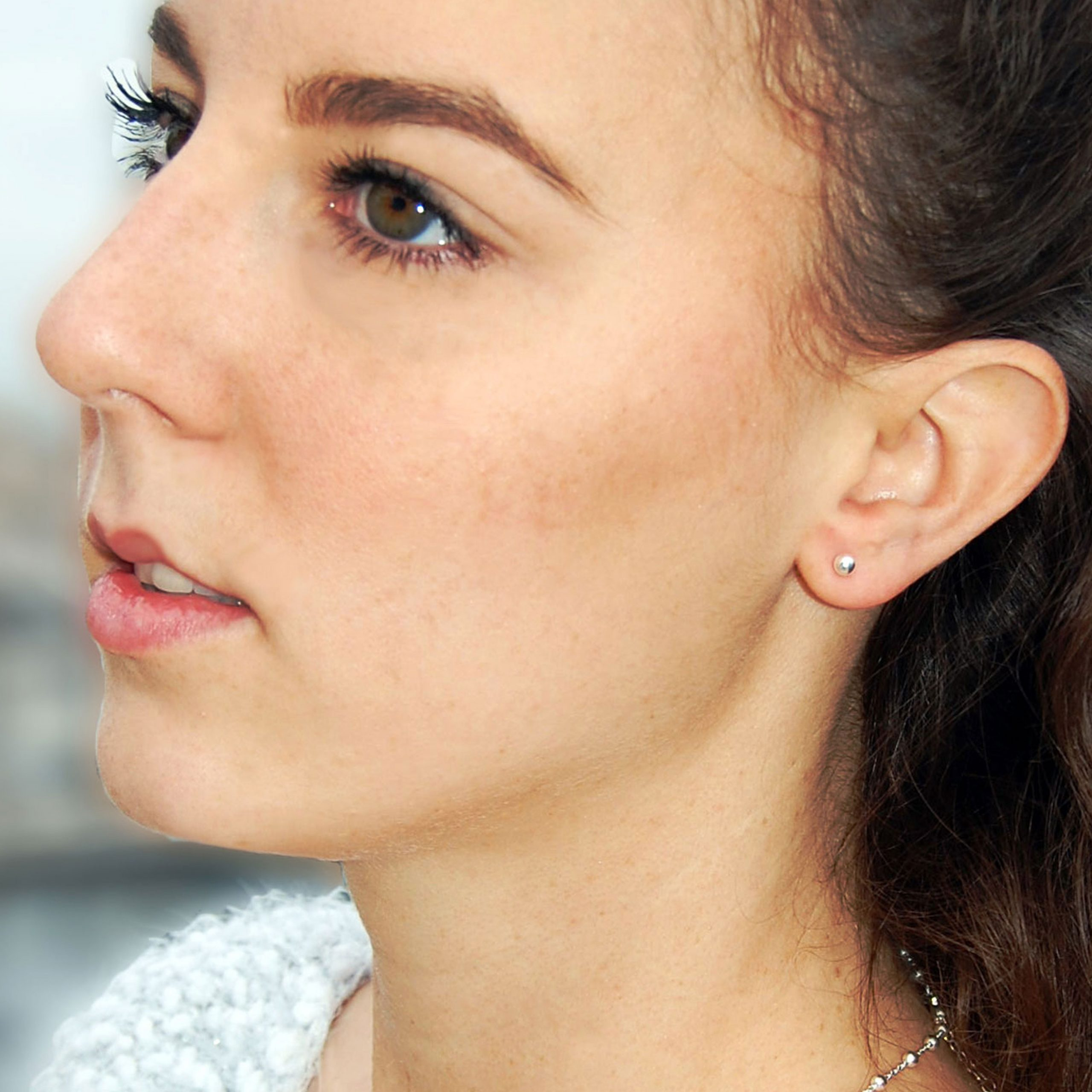 Boucles d'oreilles Mary argent